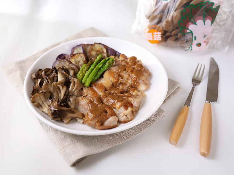 薑汁味噌舞菇雞【減醣料理】