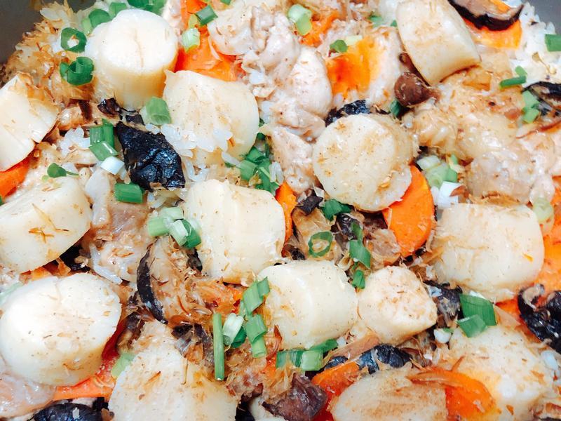 鮮味炊飯-干貝雞肉香菇