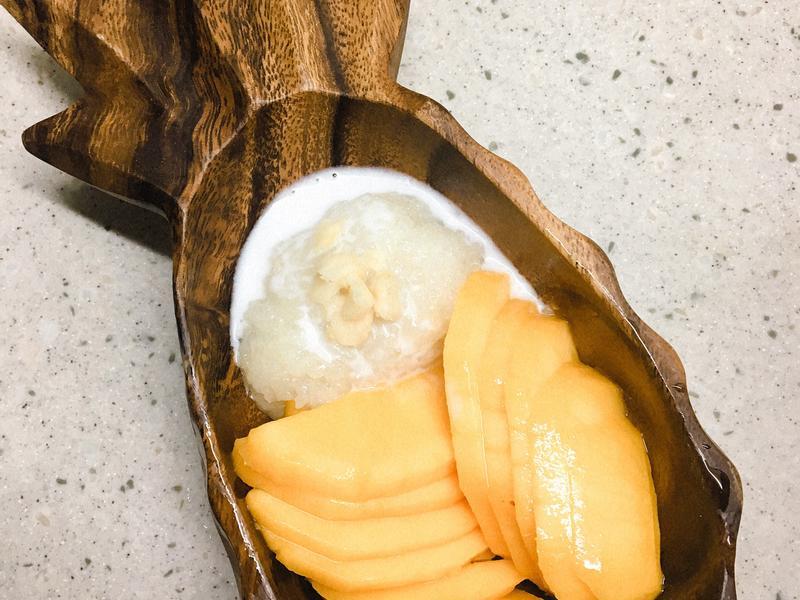 [飛利浦萬用鍋]芒果糯米飯 金小萬