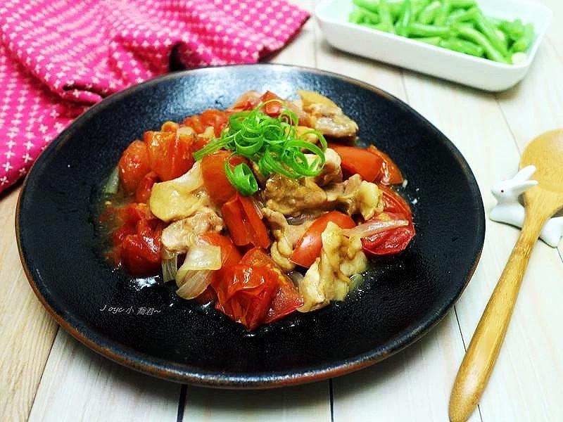 番茄醬蒸雞腿