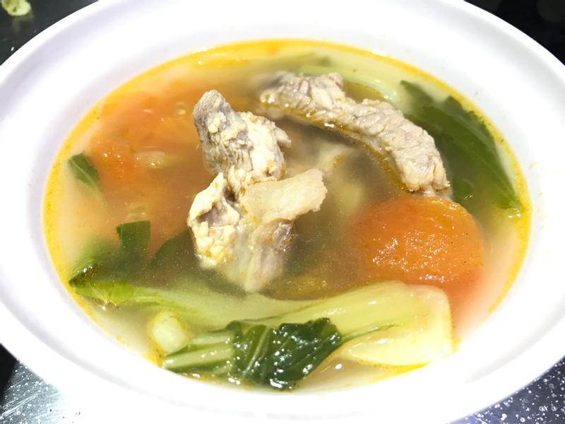 👩🏻🍳蕃茄青菜排骨湯