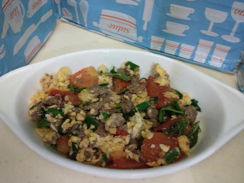 生銅 義式牛肉番茄炒蛋