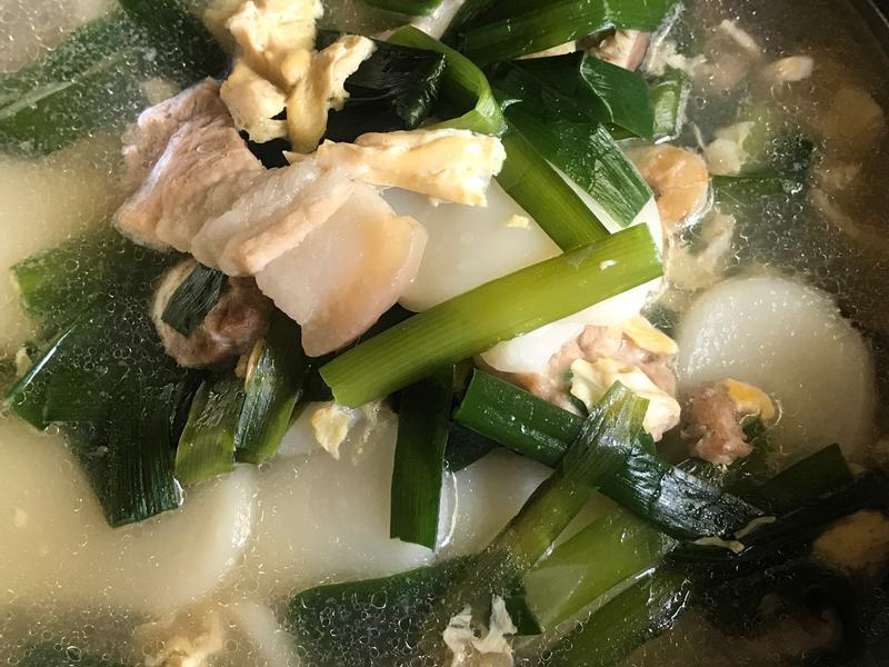 ♡傳統年糕湯♡