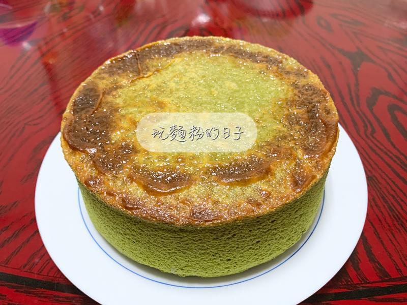 岩燒乳酪蜂蜜抹茶蛋糕