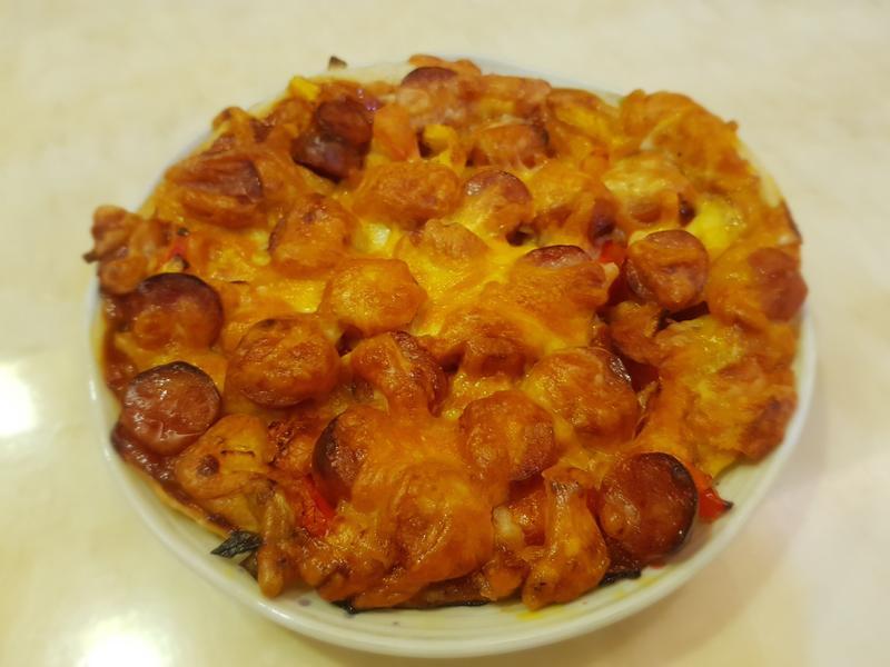 蔥油餅比薩 - 竹北縣政店氣炸鍋