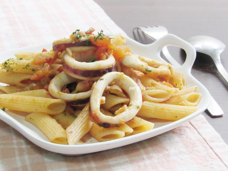白酒番茄小管義大利麵