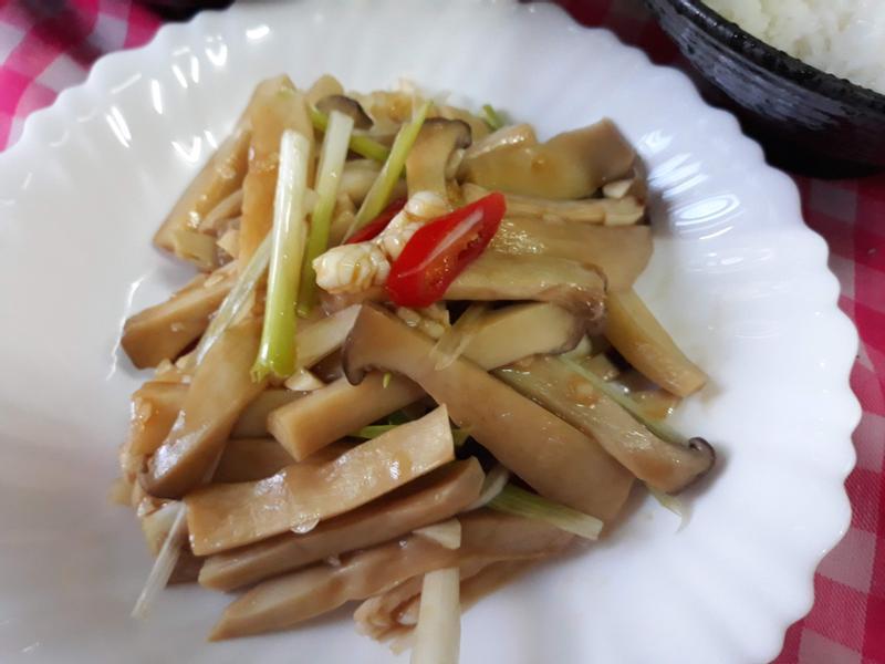 一鍋多菜版食譜-涼拌杏鮑菇