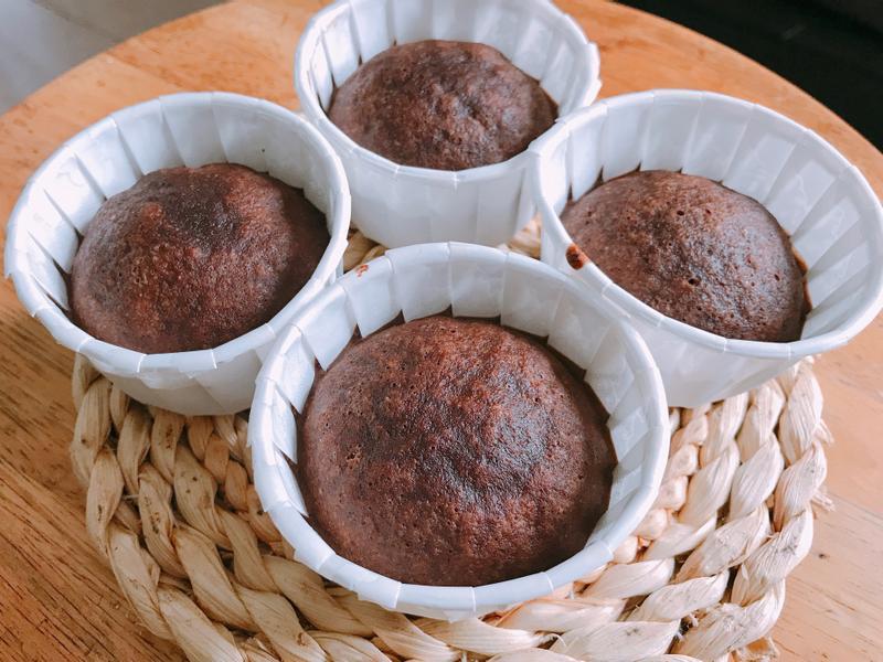 生酮巧克力蒸蛋糕