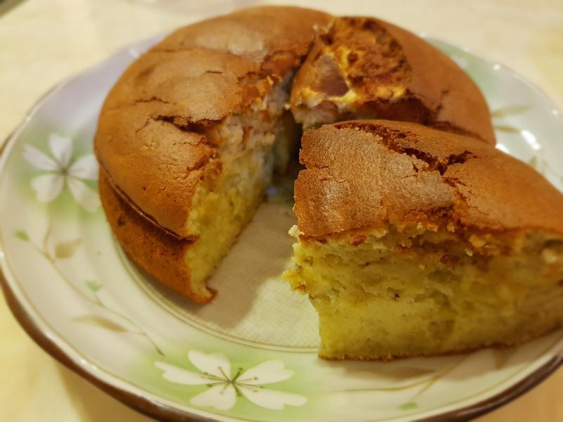 香蕉蛋糕 - 竹北縣政店氣炸鍋