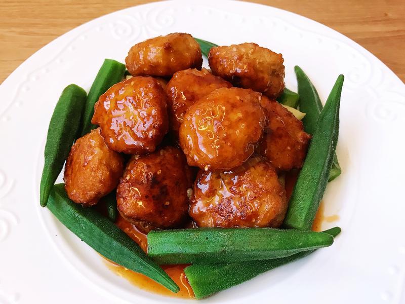 糖醋肉丸子(日式中華料理/便當菜)