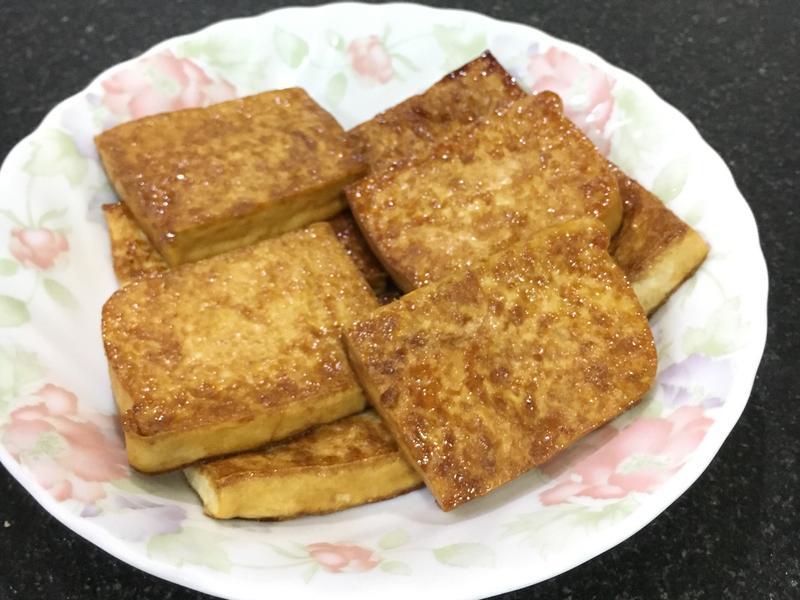 醬油煎豆腐