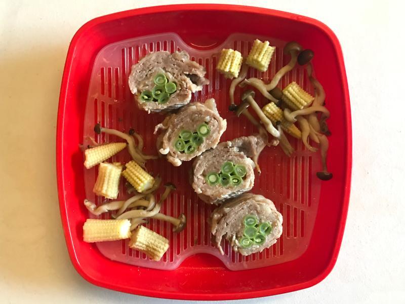 微波盒料理|四季豆肉捲(低醣/懶人)