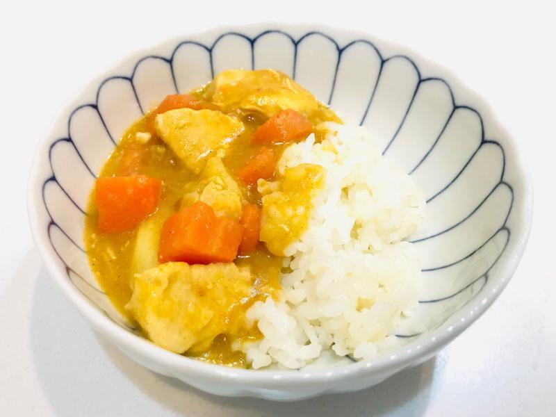 【飛利浦萬用鍋】雞肉咖哩