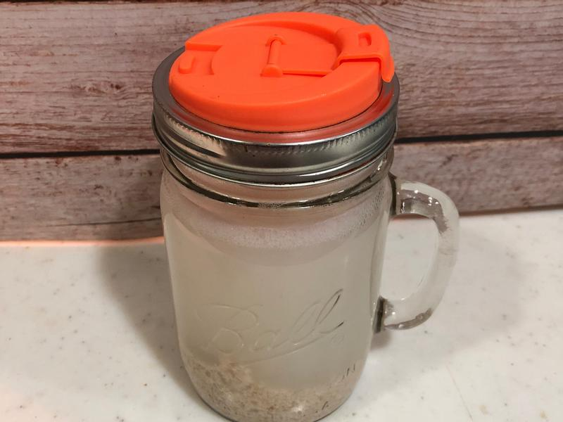 生酮補碳日之燕麥麩皮水