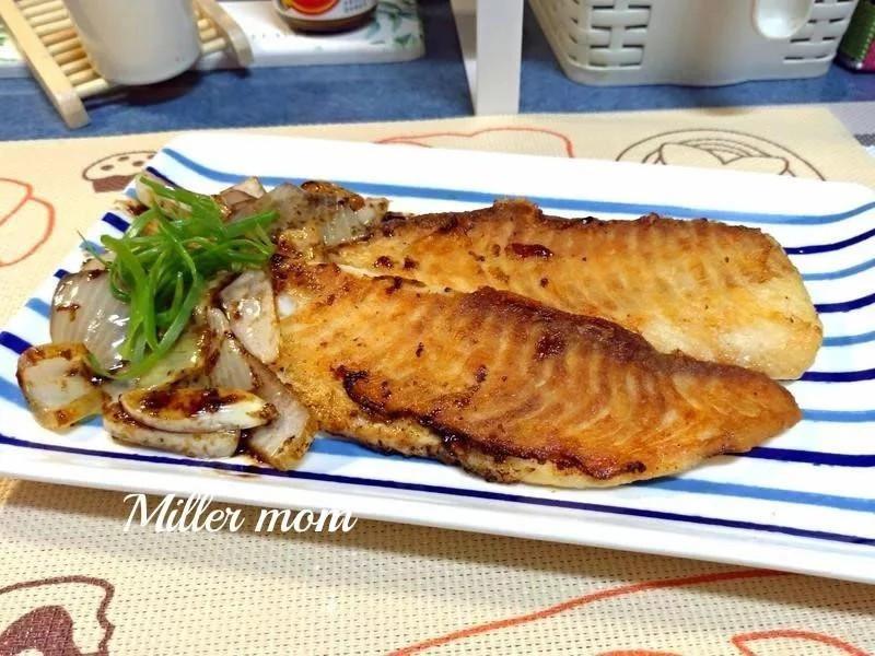 奶油蒜香鯛魚排