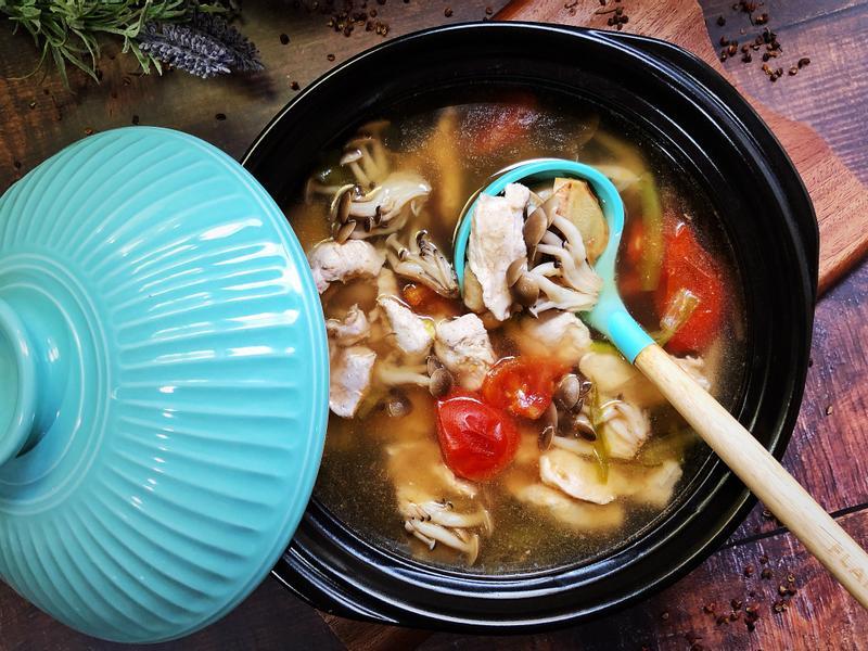 霸王花鮮菇雞湯 - 好菇道營養料理