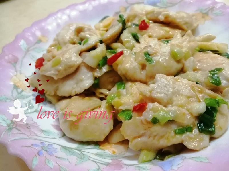 椒香鹽蔥雞