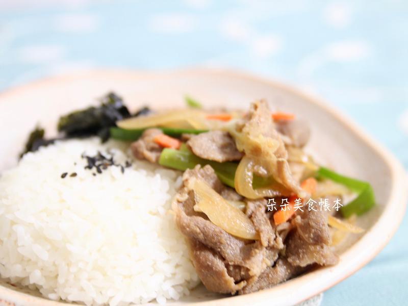 韓國烤肉飯 (自製醬汁)