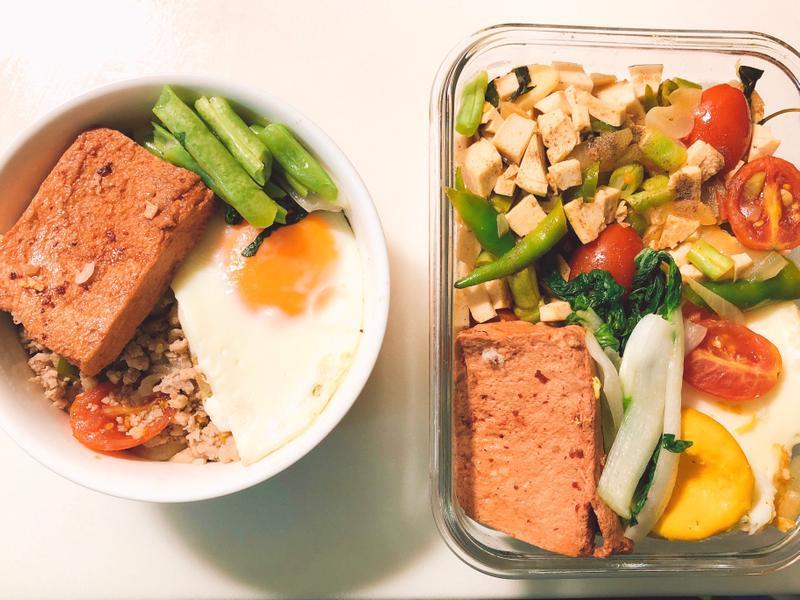 蔬食打拋肉