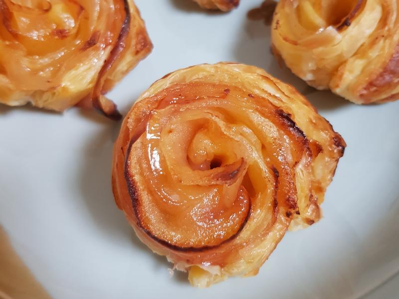 莓香蘋果塔