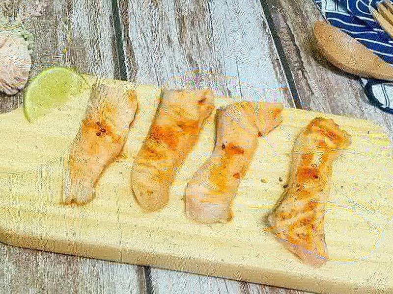 檸香鹽麴鮭魚