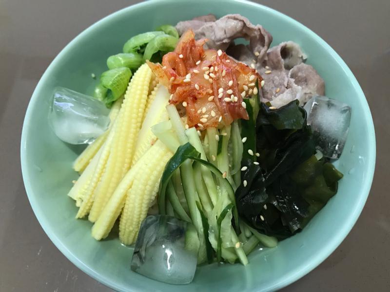 韓式湯冷麵