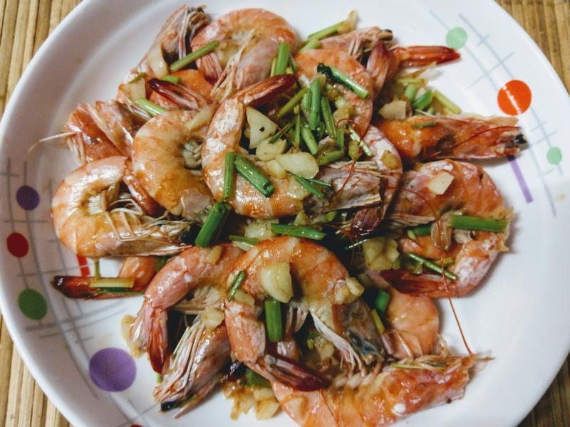 かにの泰式香茅蝦