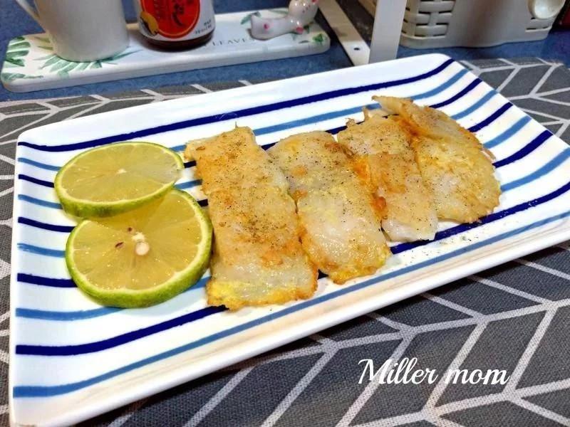黃金蛋煎巴沙魚排