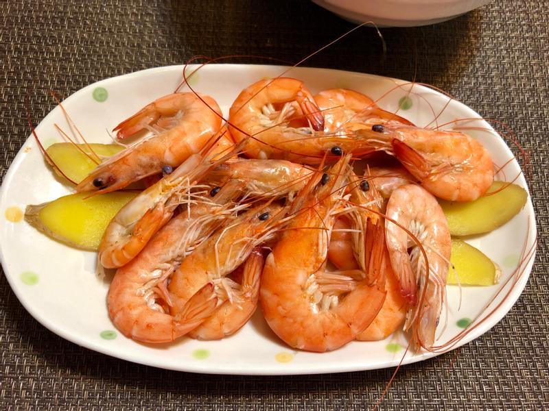 白灼蝦~極簡懶人法~水煮蝦