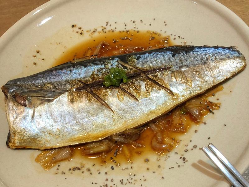 簡易料理-醬燒鯖魚