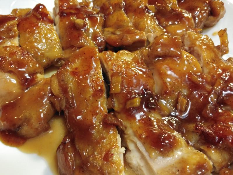蜜汁照燒雞腿排(好吃的不得了)