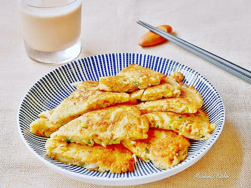 雪白菇煎餅【好菇道營養料理】