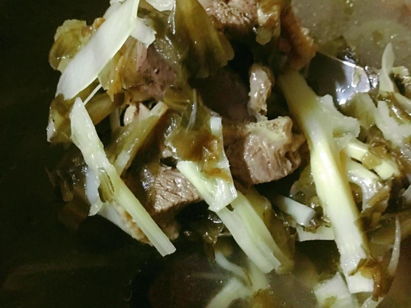 福菜鴨肉湯