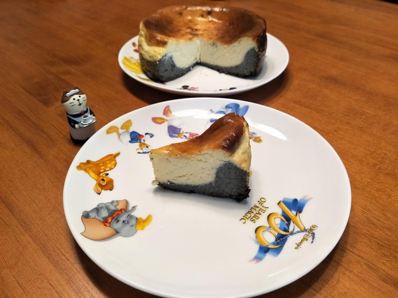 雙色巴斯克乳酪蛋糕