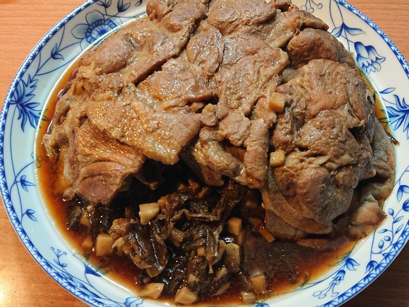 梅干扣肉(電鍋版