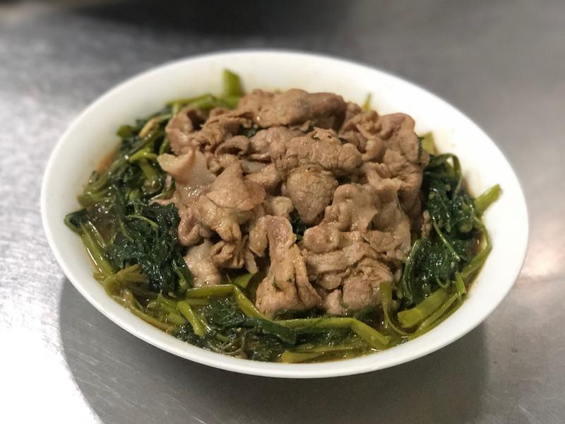 沙茶炒肉片