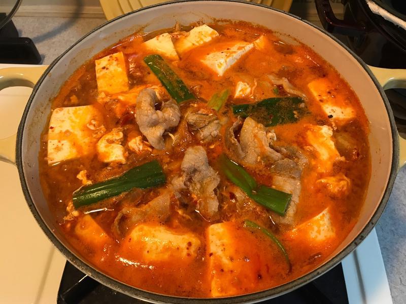 韓式泡菜豬肉鍋