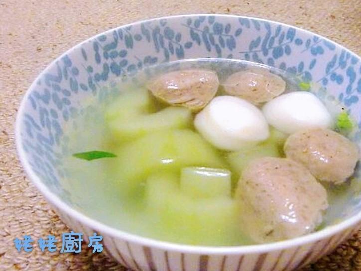 大黄瓜丸子湯