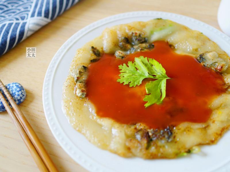 在家也可以吃到台灣夜市小吃~蚵仔煎!影音