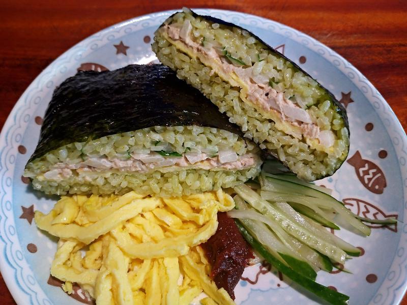 韓式洋蔥鮪魚飯糰