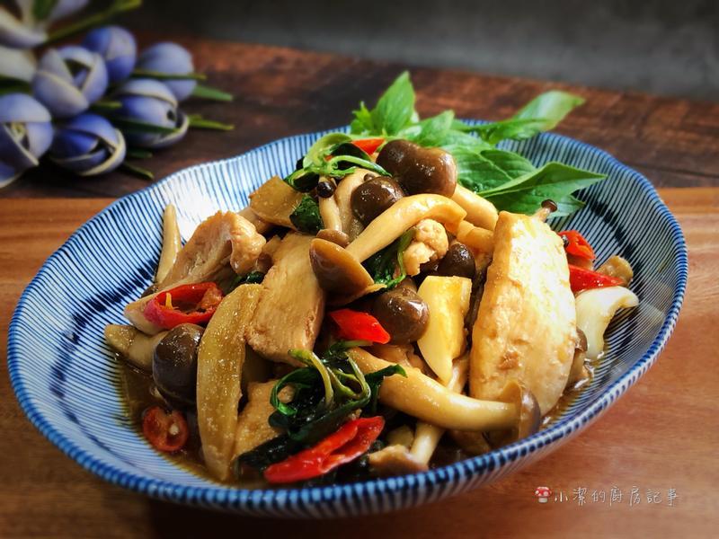 鴻運當頭三杯雞 - 好菇道營養料理