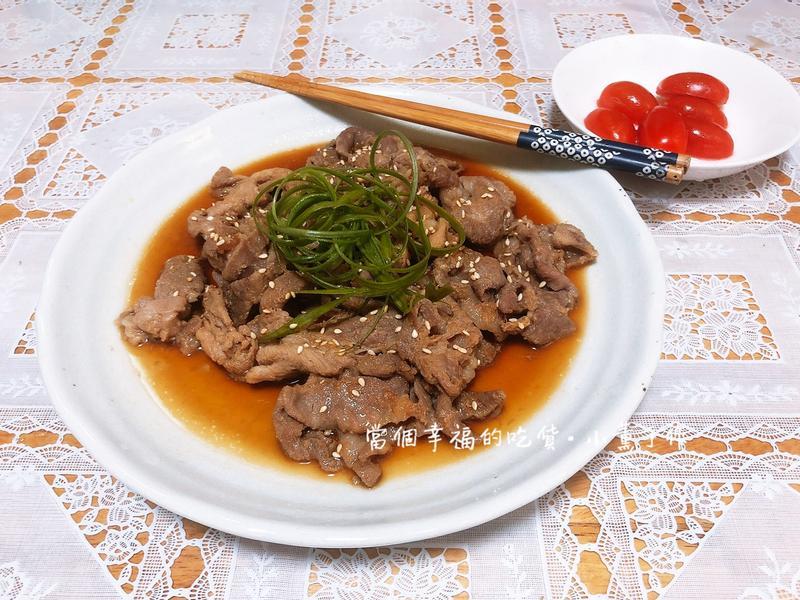 扒完整碗飯【薑汁燒肉】