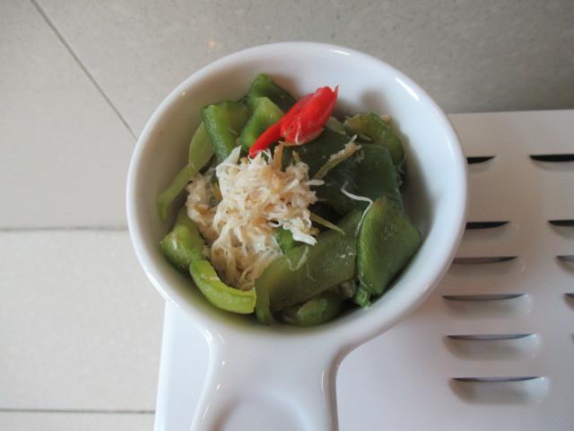 蝦醬蟹肉彩椒