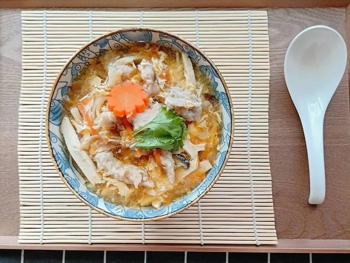 香菇肉羹湯