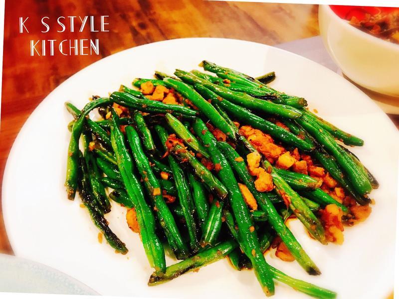 乾煸四季豆(免油炸)