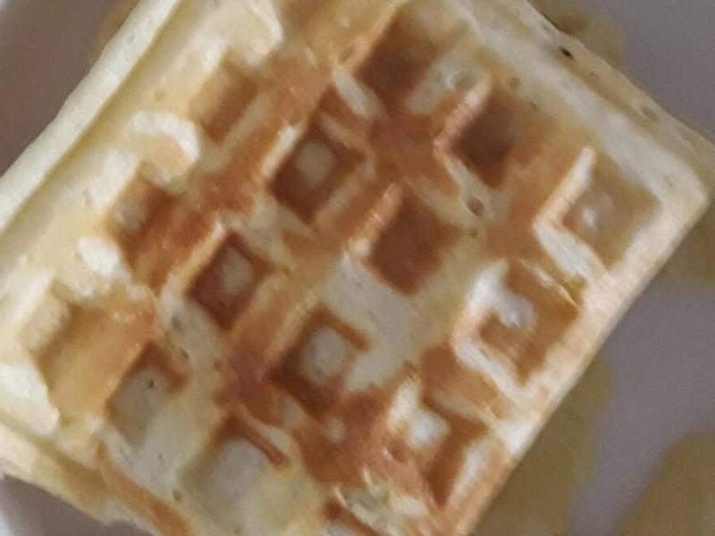 蜂蜜牛奶鬆餅
