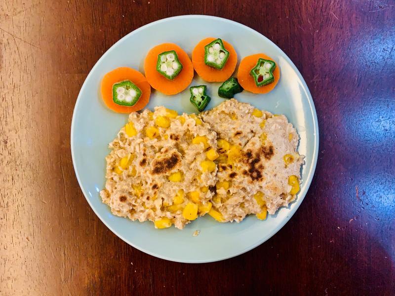 玉米燕麥煎餅(寶寶副食品)