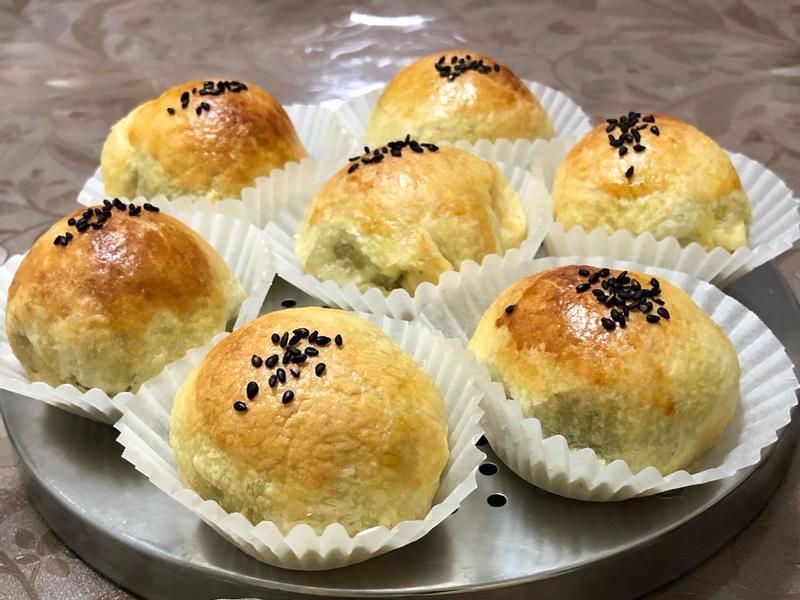 酥皮蛋黃酥—arline氣炸鍋