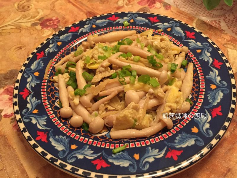 滑蛋雪白菇🎶【好菇道營養料理】
