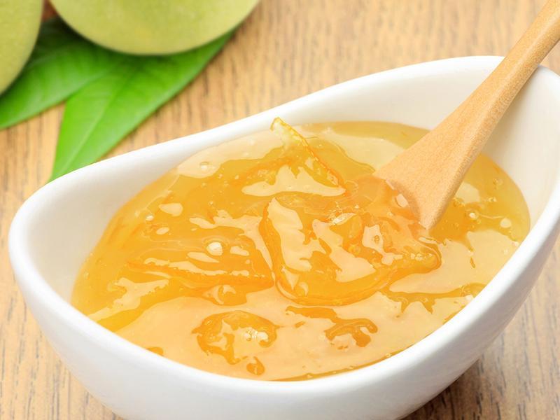 銀耳白木耳蜂蜜柚子醬